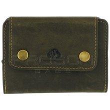 Greenburry Kožená peněženka 335-30 olivová