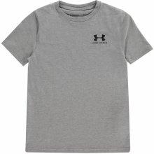b4a32f189220 Under Armour Charged Cotton tričko juniorská chlapecké