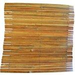 Bambusová rohož plotová 150cm x 5 m štípaný bambus