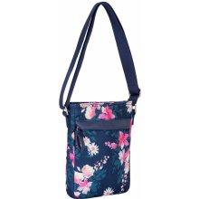 Miso Canvas Side Bag 84 Navy Floral