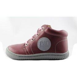 Dětská bota Filii barefoot Gecko Laces Nappa Berry 397420764c