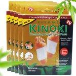 Kinoki DT056 Detoxikační náplasti Gold zázvor + sůl 5 balení