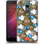 Pouzdro HEAD CASE Xiaomi Redmi Note 4 - EMOJI - Hovínka a prdíky