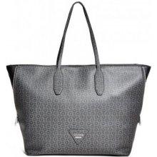 Guess velká dámská kabelka přes rameno černá