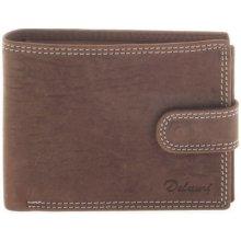 Delami Pánská kožená peněženka 8945 hnědá