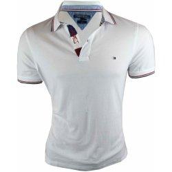 Pánské Tričko Tommy Hilfiger Pánské bílé polo triko Tommy Hilfiger c167294d062