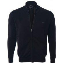 Armani Jeans elegantní svetr na zip od Černý