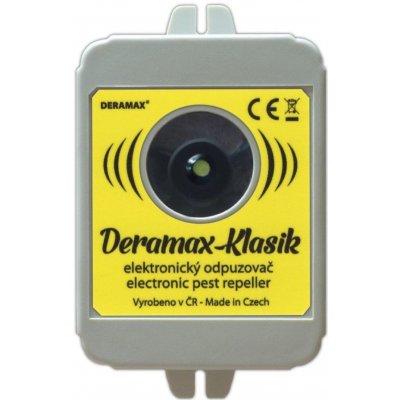 Odpuzovač kun a hlodavců - ultrazvukový bateriový DERAMAX-KLASIK