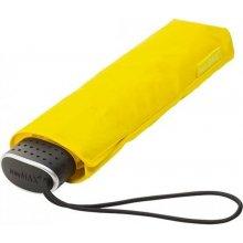 Plochý skládací deštník Malibu žlutý