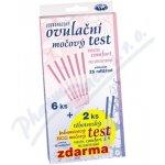 Comfort Ovulační test Proužek 6 ks