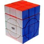 Center shifted 3x3x4 Super i Cube w Evgeniy logo Stickerless