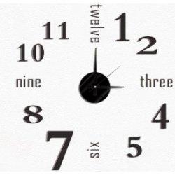 4a47aeece APT Designové 3D nalepovací hodiny 50cm od 289 Kč - Heureka.cz