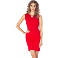Morimia dámské šaty se sponou MM 005 červená 759f4c38338