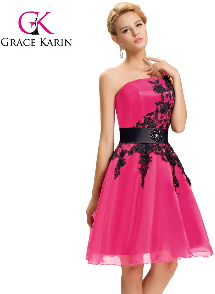65715179a1fe Grace Karin společenské šaty krátké CL4288-2 růžová alternativy - Heureka.cz