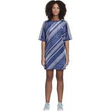c9fbadc820c0 Adidas Originals dámské šaty Trefoil dress tmavě modrá