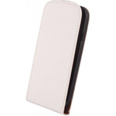 Pouzdro SLIGO Elegance LG P700 Optimus L7 bílé