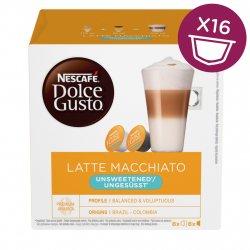 Nescafé Dolce Gusto Latte Macchiato Unsweetened kávové kapsle 16 ks