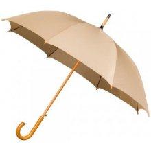 Dámský holový deštník AUTOMATIC béžový