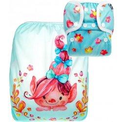 ab77ea7a625 Anavy Svrchní kalhotky na pleny Novorozenecké Trolové růžová PAT