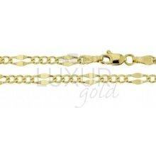 Náramek ze žlutého zlata LUXUR GOLD 3640027