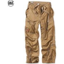 Infantry Cargo khaki kalhoty