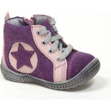 Santé N PARIS 101 77 48 dětská zdravotní vycházková obuv fialová 61f43568c4