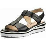 df6f80187ec2 Caprice dámské páskové sandály 9-28709-20 black nappa
