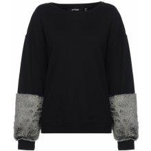 Golddigga Faux Fur Sleeve Sweater Ladies f70cfbfda1