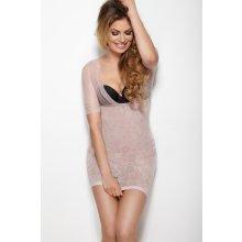Stahovací šaty Mitex GLOSSY DRESS L pudrová růž 69a2c9d634