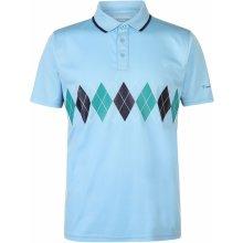 32c7ac531 Pierre Cardin Sports Poly Argyle Polo Shirt Mens Sky