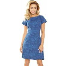 0369cfe889ab Numoco dámské denní šaty 104853 modrá