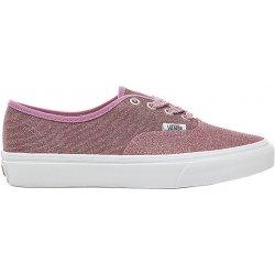 27cddd6d167 Dámská obuv Vans Dámské tenisky UA Authentic Lurex Glitter Pink True White  VA38EMU3U