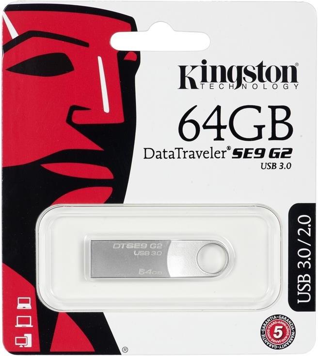 Kingston DataTraveler SE9 G2 64GB DTSE9G2/64GB