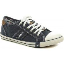 454941322bb19 Mustang 4058-305-800 tmavě modré pánské tenisky