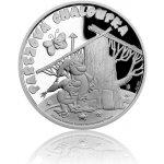 Česká mincovna Stříbrná mince Pohádky z mechu a kapradí Pařezová chaloupka proof 10 g