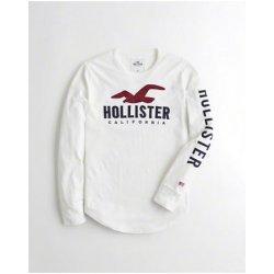 dfd171527c Hollister Co. tričko Hollister s nášivkou červená alternativy ...
