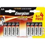 Baterie ENERGIZER Max Powerseal AA 8ks