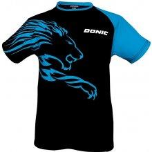 Donic tričko Lion černo-modré černo-modrá