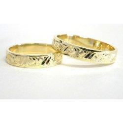 Zlate Snubni Prsteny Ryte 0039 Alternativy Heureka Cz