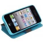 Pouzdro Book Flexi Pocket Samsung Galaxy S3 Mini (i8190,i8200) Světle modré