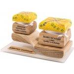 RaE Barevná limitovaná edice Bambucké tělové máslo 30 ml + Krémový deodorant 15 ml Vanilka a Orchidej 30 ml a 15 ml dárková sada