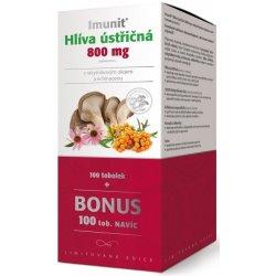 Imunit Hlíva ústřičná 800mg s rakytníkovým olejem a Echinaceou 200 tablet