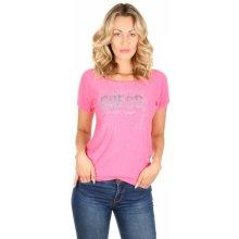 39732525aac Guess dámský růžový tenký svetřík s krátkým rukávem