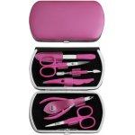 Luxusní sada na manikúru a pedikúru Solingen pink NO 319-12