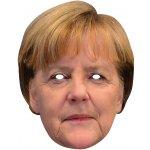 Angela Merkel kartonová maska