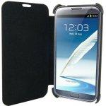 """Pouzdro 4World Ochranné Galaxy Note 2 koženka Slim 5.5"""" černé"""