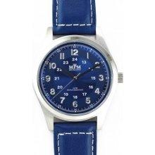 MPM W01M.10013.D modrý ciferník / bílá čísla