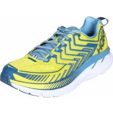 Hoka One One Clifton 4 běžecká žlutá-modrá