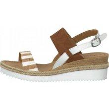 Tamaris dámské sandály hnědá