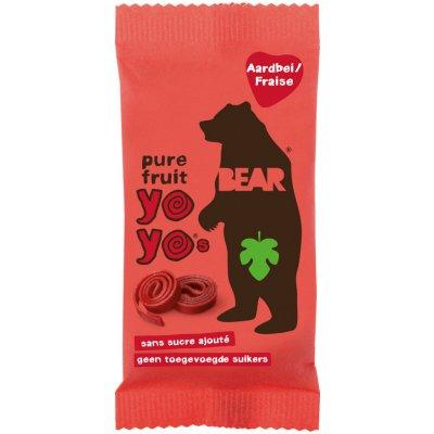 Bear Yoyo ovocné plátky Jahoda 20g